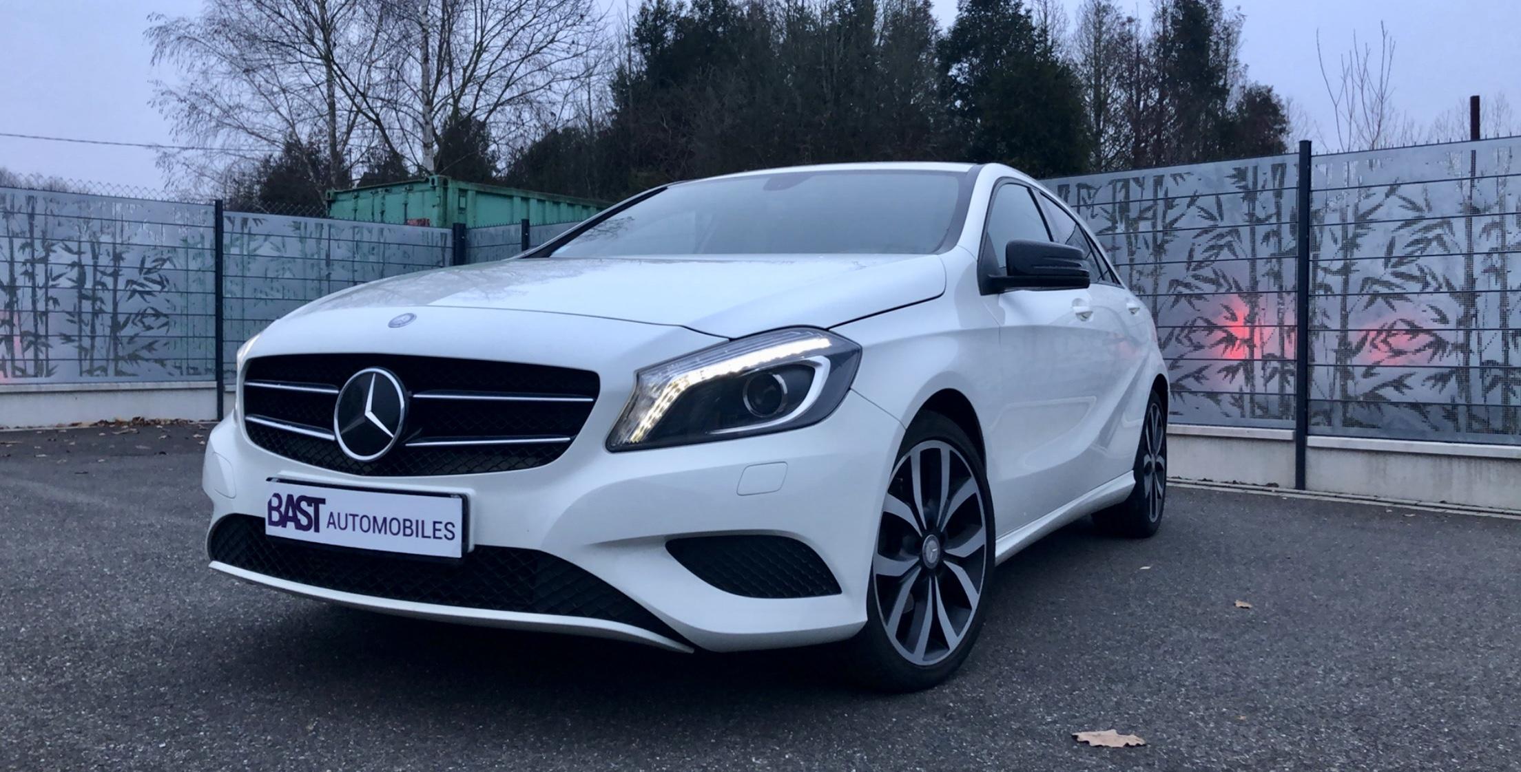 Mercedes Classe A 180 Sensation Blanche Image