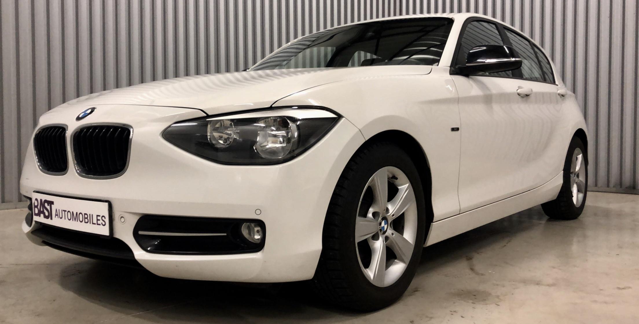 BMW Série 1 116i Sportline Blanc Image