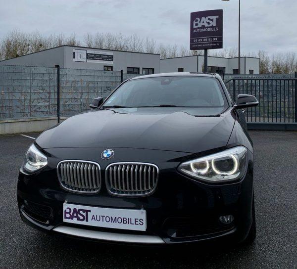 BMW Série 1 120D GPS Navi Pro Xénon Urban Line - Bast Automobiles - Avant
