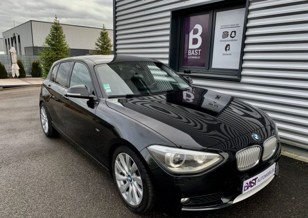 BMW Série 1 120D GPS Navi Pro Xénon Urban Line - Bast Automobiles - Avant droit