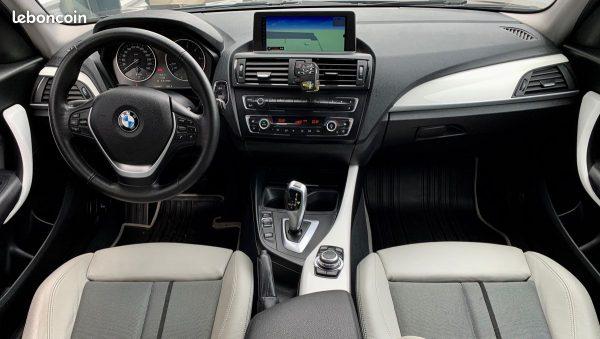 BMW Série 1 120D GPS Navi Pro Xénon Urban Line - Bast Automobiles - Intérieur